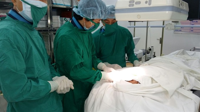 Doctors complete double-chamber pacemaker surgery