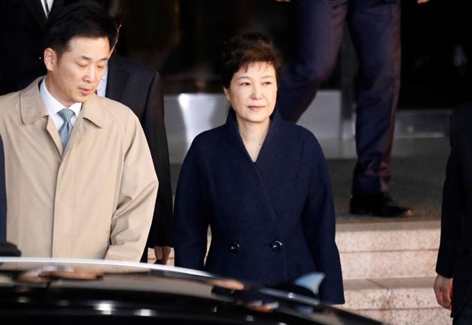 S.Korea prosecutors to seek arrest of ex-president Park