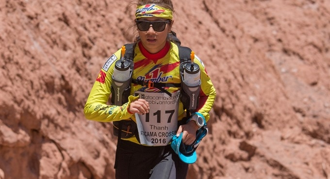 First Asian woman to complete desert race
