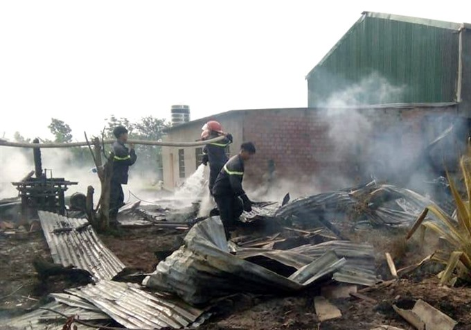 Fire engulfs wood workshop causing vast loss
