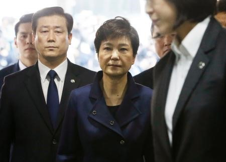 S.Koreas ousted president Park appears in court