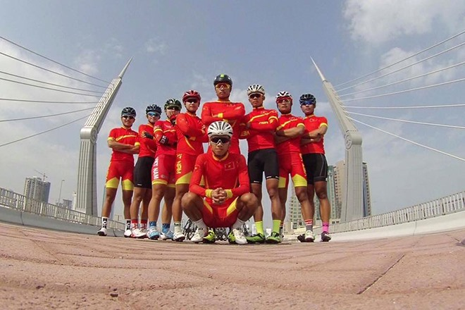 Cyclists to tour 1000km in Thailand