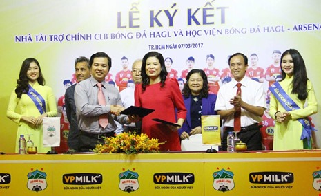 VPMilk becomes HAGLs top sponsor