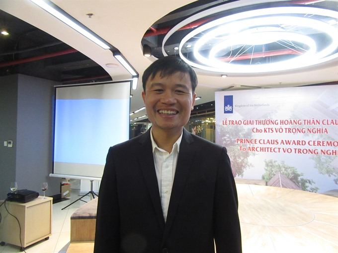 Vietnamese architect shares dreams of green cities