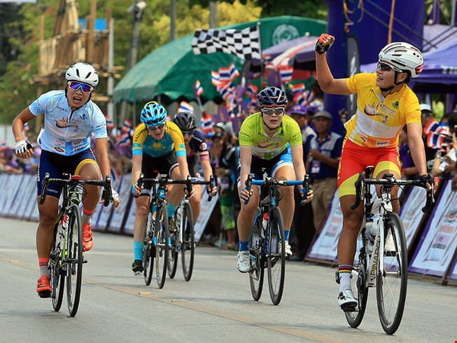 Cyclist Thật places second in Tour of Thailand