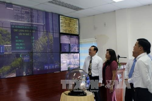 HCM City begins public display of air water quality data