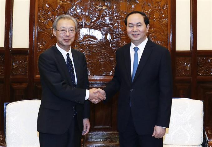 President praises Vietnam News Agency-Kyodo co-operation