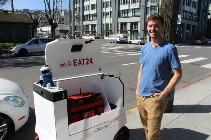 San Francisco gets a taste of robotic food delivery