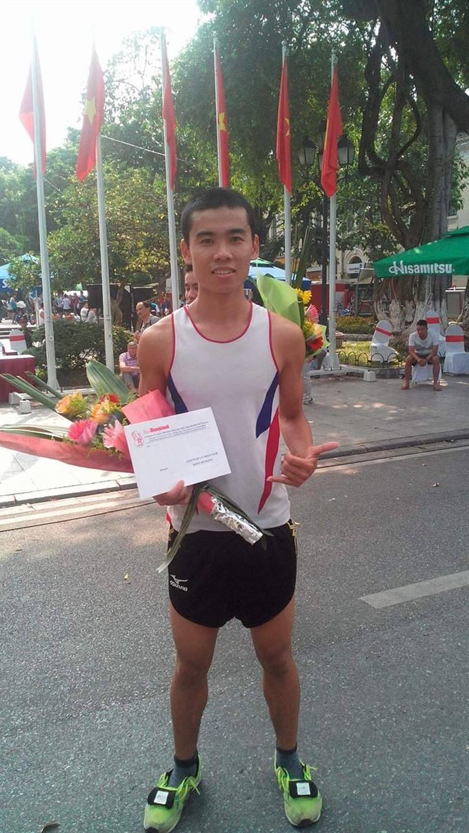 The marathon journey of Vũ Văn Sơn