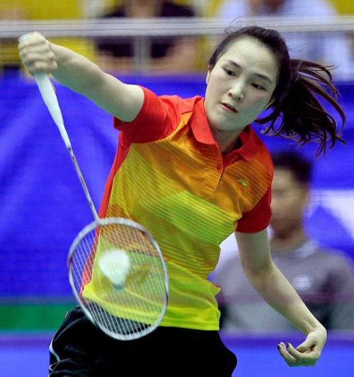 Trang rises to No 39 in badminton rankings