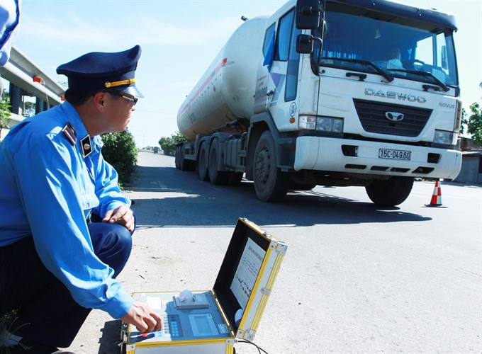 13 localities have not resumed operations of trucks weighing stations