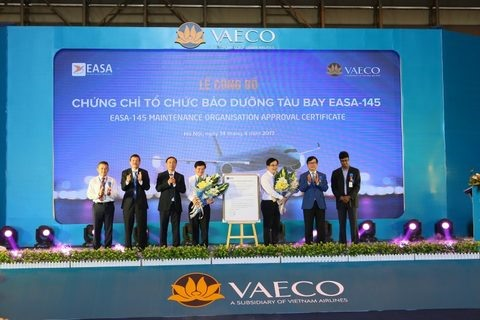 VN Airlines gets EASA-145 certification