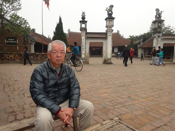 The Japanese professor who loves Việt Nams heritage