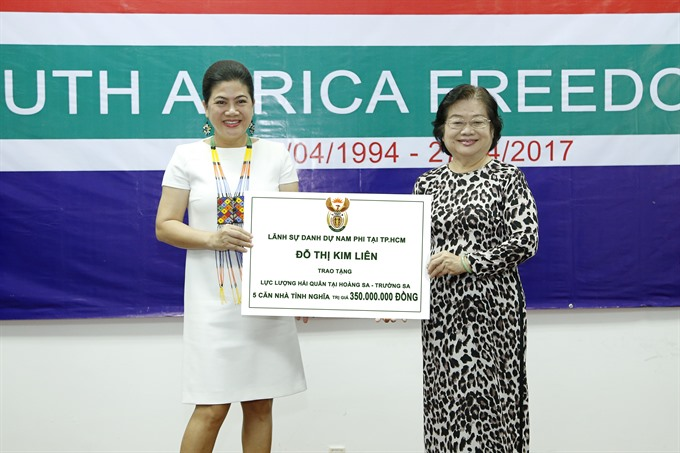 South African Honorary Consulate donates five houses to Navy