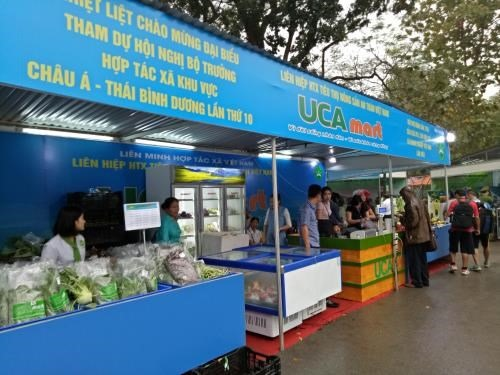 Cooperative products fair in Hà Nội