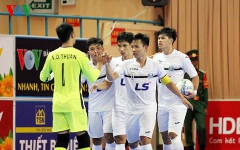 Thái Sơn Nam beat Phú Nhuận at futsal tournament