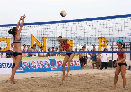 National beach volleyball event begins