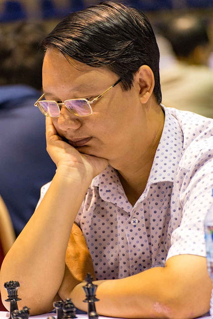 Hải Trâm of HCM City lead in chess champs
