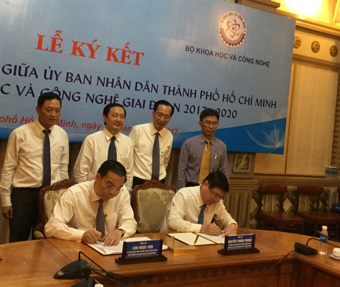 City ministry sign agreement on science and technology development