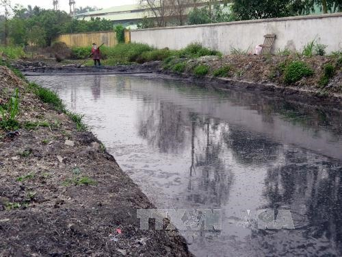 Businesses discharge wastewater into irrigation canals