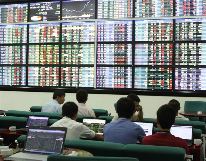 Shares down as holiday approaches