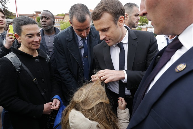 Frances Macron says nothings won yet