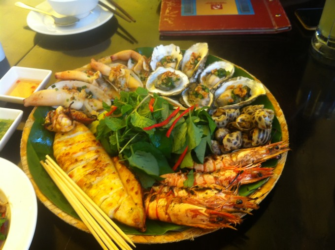 Seafood celebration in the heart of Ha Noi