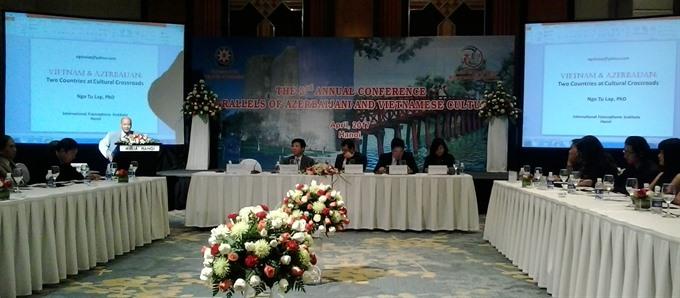 Azerbaijan Việt Nam are long lost sisters
