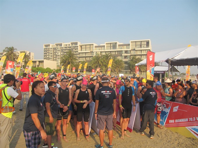 VN atheletes gear up for Ironman 70.3
