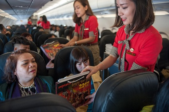 Vietjet records high profit growth in 2016
