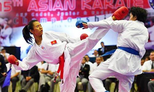 Ngoan wins bronze medal at Karate1 Premier League
