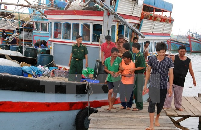 Fishermen rescued from central waters