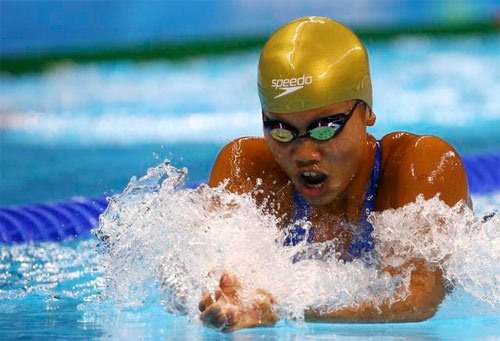 Viên wins two golds at Speedo Sectionals