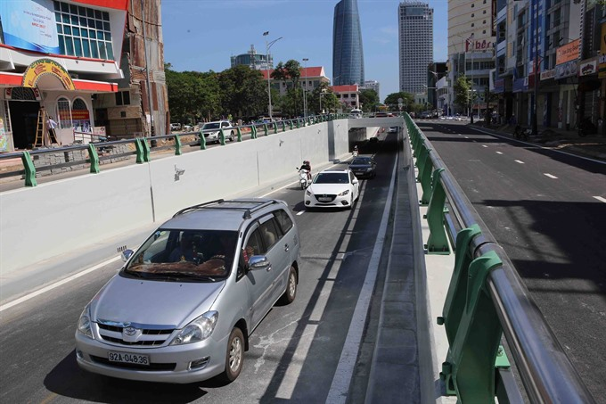 Central city inaugurates first urban road tunnel