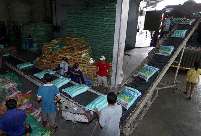 Domestic price hike hurts VN rice exporters