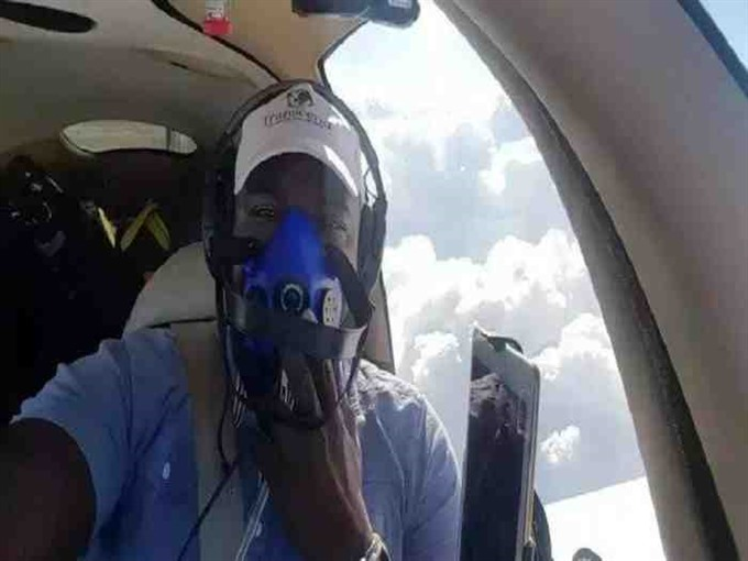 Nigerian becomes first African to fly solo around the world