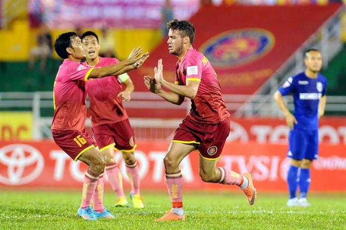 Sài Gòn beat Quang Nam in V. League