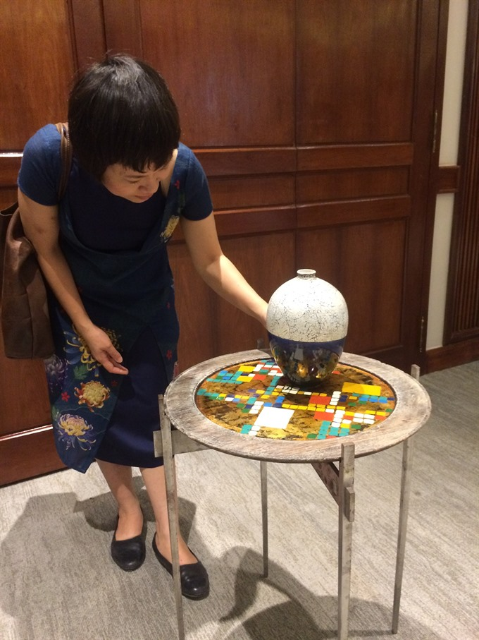 Famed Vietnamese artists take on interior design