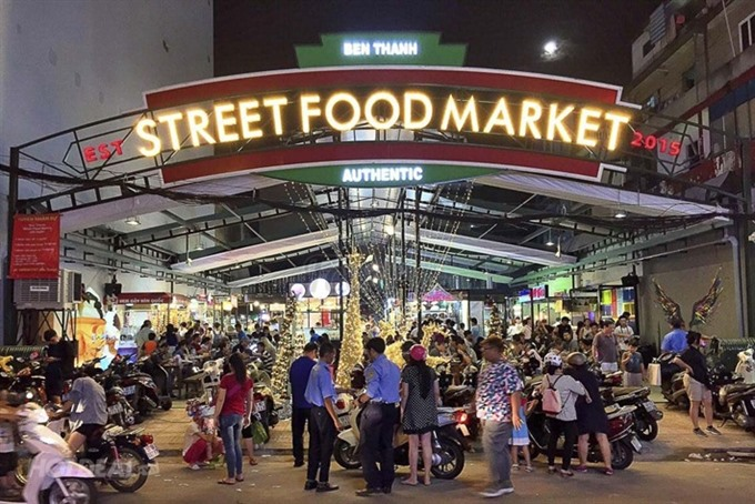 Street food market brings flavour to downtown HCM City