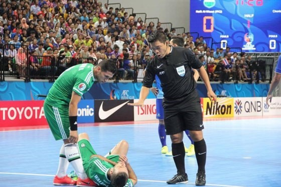Dũng to referee at U20 Futsal Asia