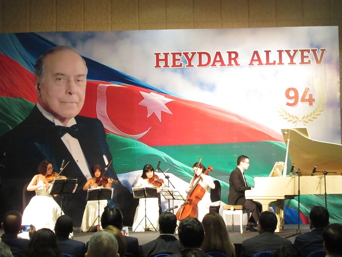 Book about national leader of Azerbaijani people published in Vietnamese