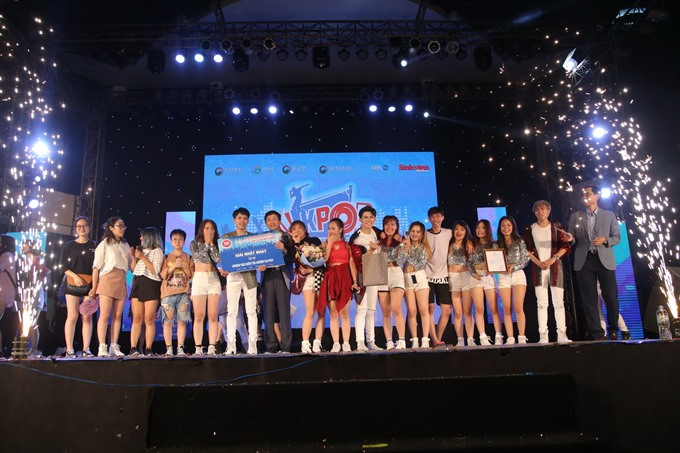 K-pop fest winners bound for Korea