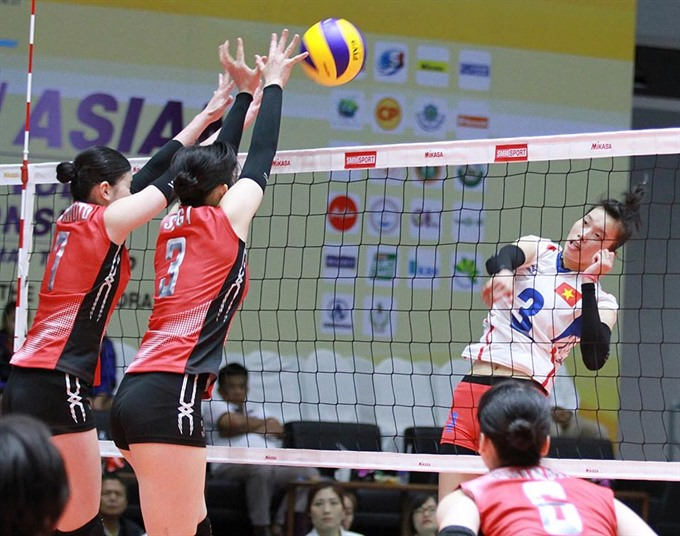 Japan beat VN in womens Asian volleyball championship