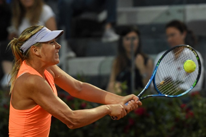 Sharapova retires after French Open snub Murray stunned