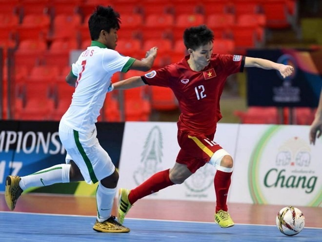VN tie with Indonesia in Asia futsal event