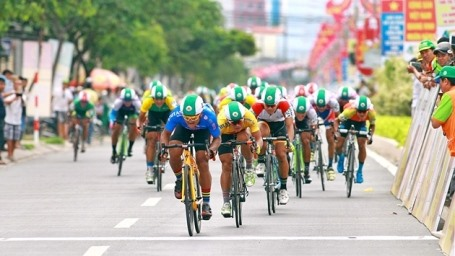 Cambodian cyclist wins 9th Countryside stage
