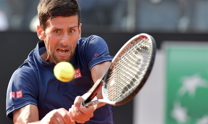Djokovic Nadal stay on course in Rome