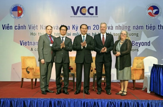 President hails Việt Nam- US trade ties