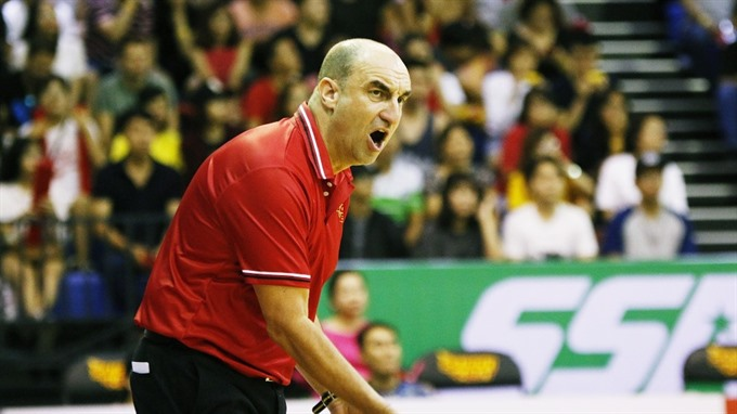 Heat say goodbye to coach Garbelotto