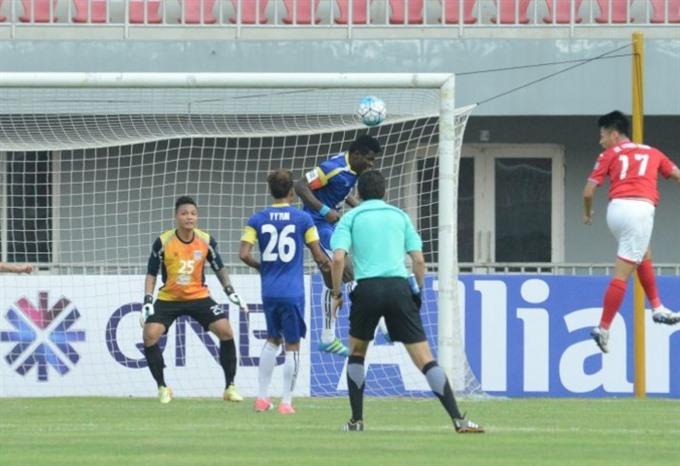 AFC Cup: Quảng Ninhs consolation win against Yadanarbon